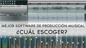 mejor software producción musical
