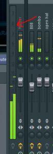 volumen mezcla musica