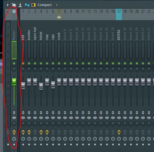 volumen mezcla