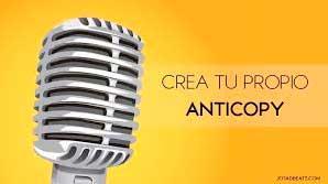 crear anticopy beats