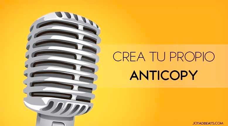 crear anticopy audio gratis