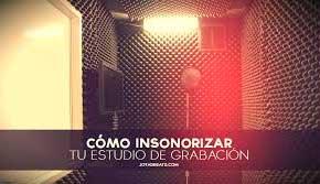 Insonorizar habitacion para musica materiales de - Insonorizar estudio ...