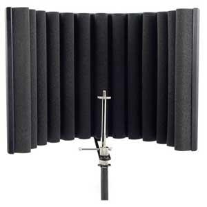 pantalla para micrófonos