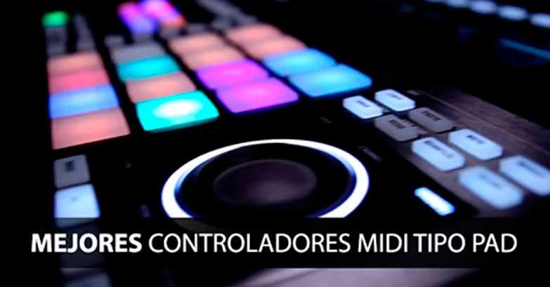 controladores midi pad
